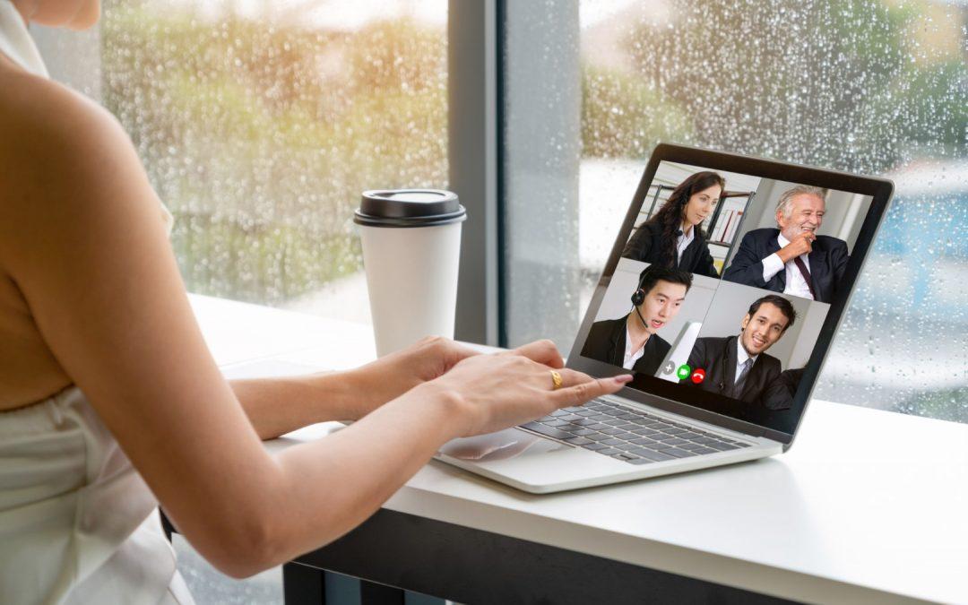 Making zoom team meetings more personal and fun