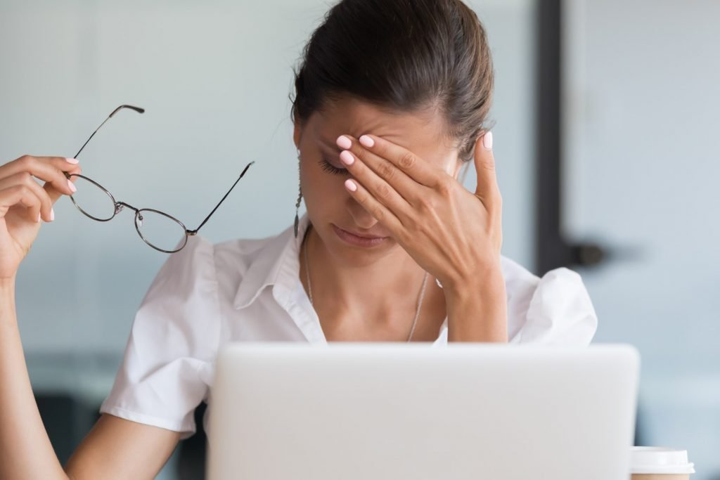Suffering zoom fatigue