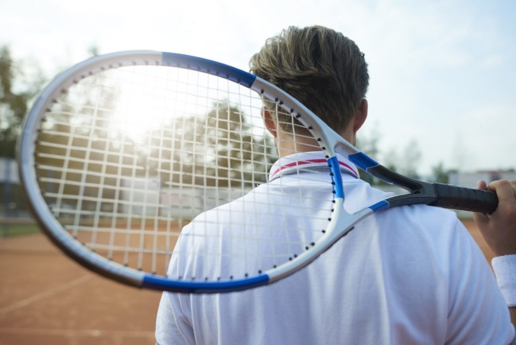 Introvert tennis player reluctant to answer questions?